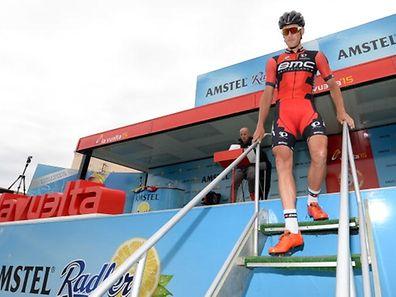 Jempy Drucker (BMC Racing Team), le maillot rouge et noir lui va si bien...