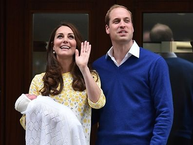 William und Kate mit ihrem neugeborenen Töchterchen.