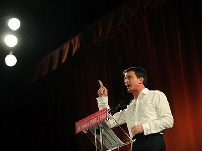 Le Premier ministre, Manuel Valls, a cherché toute la semaine à mobiliser les électeurs de gauche.