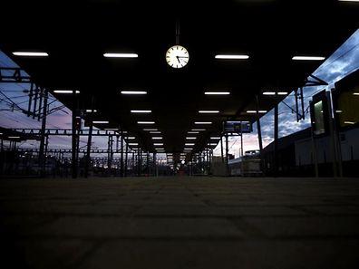 Tatort Bahnsteig: Binnen 17 Tagen waren die Angeklagten an zwei Übergriffen beteiligt.
