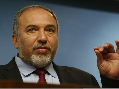 """Israels Außenminister Avigdor Lieberman sprach von einem """"weiteren aggressiven Schritt der Palästinenser""""."""