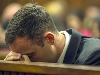 Oscar Pistorius' Verzweiflungsausbrüche sind fast schon ein gewohntes Bild im Gerichtssaal.