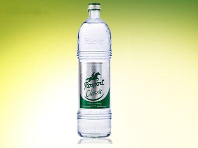 """Lediglich die 1-Liter-Glasflaschen mit """"Rosport Classic"""" sind betroffen."""