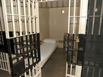 Eine Zelle im Gefängnis von Huntsville.