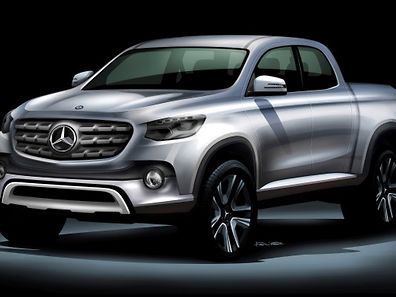 Ladung und Lifestyle: Der Pick-up von Daimler soll beides bieten.