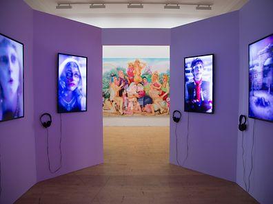 Rachel Maclean exposition forum d'art contemporain le 25/09/2015 photo Tania Bettega