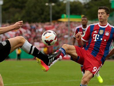 Robert Lewandowski steht mit Bayern München vor keiner leichten Saison.