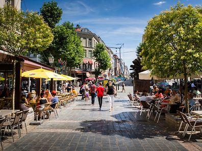 Europaviertel, Bruxelles, Place Jourdan, Foto Lex Kleren
