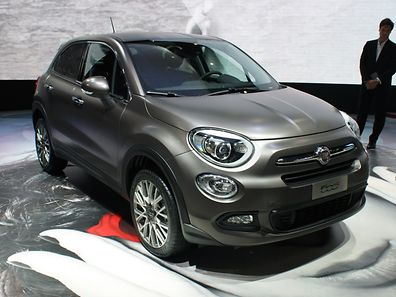 File photo of grey Fiat 500X