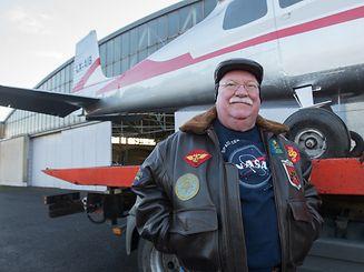 Der Eigner der LX-AIB, Jean-Marc Braun, möchte, dass möglichst viele Menschen das Flugzeug seiner Kindheit sehen können.