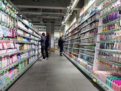 Die Nielsen-Studie basiert auf Daten von rund 100000 Produkten aus 22 Supermärkten, die sich in einem Umkreis von 50 km von Luxemburg befinden.