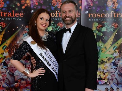 Luxembourg Rose Niamh Bergin at the 2014 Rose of Tralee Regional Festival