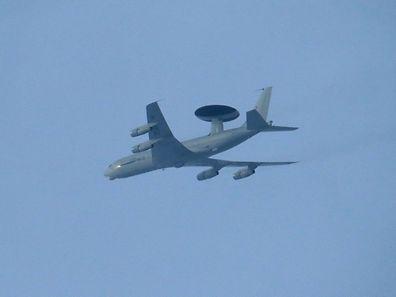 Les avions Awacs de l'OTAN sont stationnés à Geilenkirchen en Allemagne