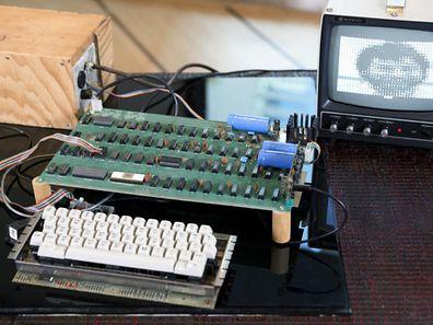 Der Rekord-Apple besteht aus einzelnen Komponenten.