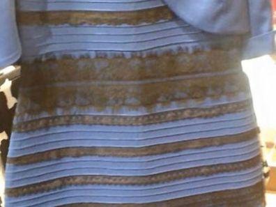 Dieses Kleid sorgt für ausgedehnte Diskussionen.