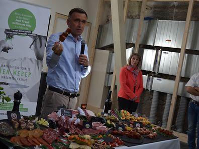 Yannick De Mesmaeker, responsável pelos talhos dos supermercados CACTUS