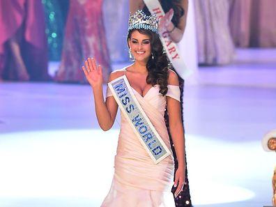 Miss South Africa und gleichzeitig Miss World: Rolene Strauss