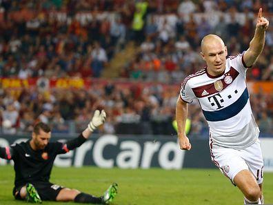 Arjen Robben a montré la voie à suivre à ses équipiers en ouvrant le score après seulement 9 minutes.