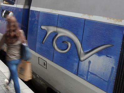 4.6. Gare Luxemburg  / TGV / Zug nach Paris foto: Guy Jallay
