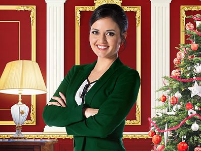 "Danica McKellar, pictured, plays the love interest in Hallmark's ""Crown for Christmas"""