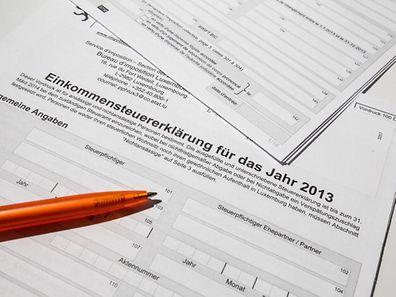 Jedes Jahr aufs Neue muss die Steuererklärung ausgefüllt werden.
