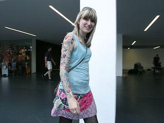 Mandy Theisen: «Certaines personnes me disent que c'est très joli, d'autres me regardent comme si je n'étais pas une personne normale».