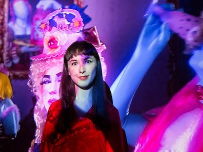 Rachel Maclean exposition forum d'art contemporain le 25/09/2015 photo Tania Bettega