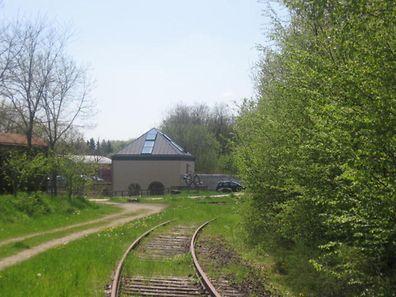 Ancienne ligne de l'Attert à Steinfort