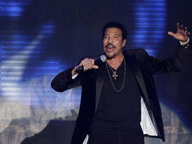 Lionel Richie live à la Rockhal en 2012.
