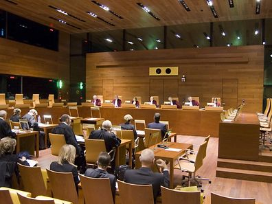 File photo taken inside the General Court of the European Union in Kirchberg