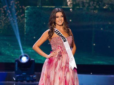 Saly Greige, Miss Libanon 2014  zählt zu den 88 Kandidantinnen um den Miss Universe-Titel.