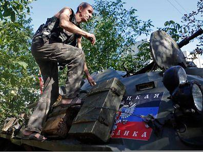 Die Separatisten bleiben weiterhin in Alarmbereitschaft.