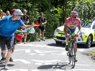 Alberto Contador spielte seine Klasse aus.