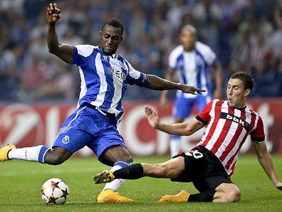 Jackson Martínez marcou o primeiro golo do FC Porto