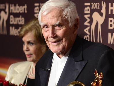 "Archivfoto: Joachim ""Blacky"" Fuchsberger nach der Bambi-Verleihung  im  November 2012."
