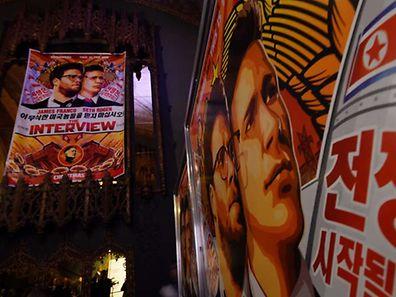 """Der Film """"The Interview"""" bleibt komplett der Öffentlichkeit vorenthalten. Er wird weder im Kino gezeigt noch auf DVD erscheinen."""