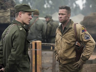 Brad Pitt geht als Panzerkommandant auf Nazijagd