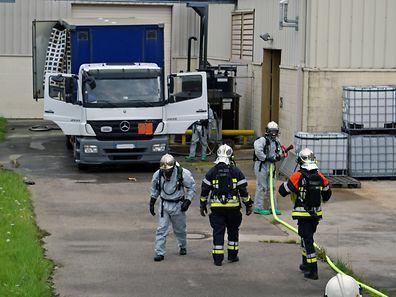 Chemieunfall in Grevenmacher