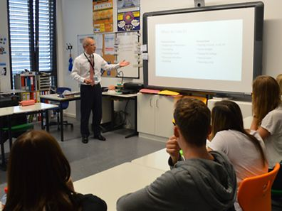 The first Career Lunch of the school year was held at St George's International School