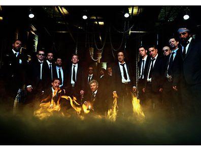 Les Tambours du Bronx.