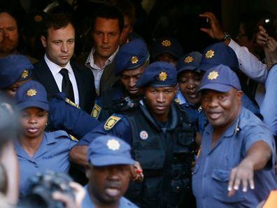 Oscar Pistorius war am Freitag der fahrlässigen Tötung schuldig gesprochen worden.