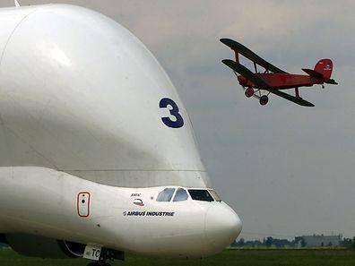 Am 13. September 1994 hob der Beluga zum ersten Mal ab.