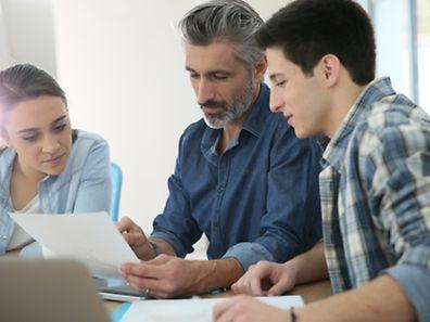 """Junge Unternehmer können unter anderem beim """"Espace Entreprises"""" der luxemburgischen Handelskammer Experten finden, die ihnen bei der Gründung einer Firma unter die Arme greifen."""