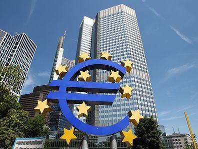 Sitz der Europäischen Zentralbank in Frankfurt/Main.