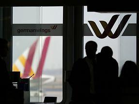 Passageiros da Germanwings no aeroporto de Dusseldorf