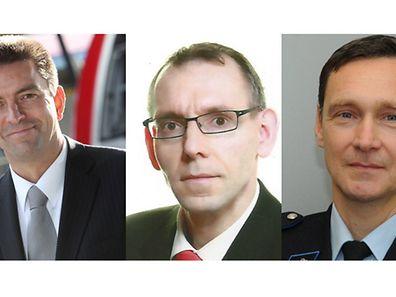Philippe Schrantz, Jeff Neuens, Donny Donven