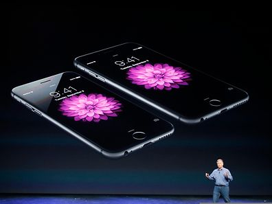 Phil Schiller, Senior Vice President at Apple Inc., speaks about the iPhone 6 and the iPhone 6 Plus