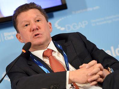Der Chef des russischen Staatsmonopolisten Gazprom, Alexej Miller. (Foto: dpa)