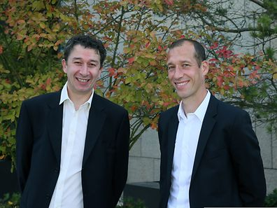 Zwei Brüder mit einer gemeinsamen Leidenschaft: Christian (l.) und Jeff Strasser.