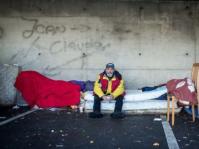 Seit April 2011 lebt Georges Edward Nixon auf der Straße.